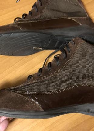Ботинки stonefly замша, кожа, сетка 38р.