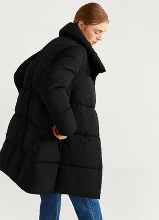 Зимняя непромокаемая утепленная куртка / пальто xs, s, m, l, xl mango