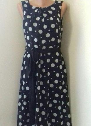 Красивое платье в горошек debenhams