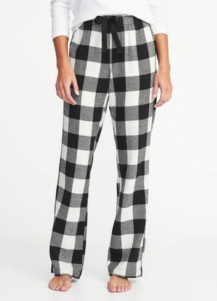 Женские штаны фланелевые пижама домашние old navy сша