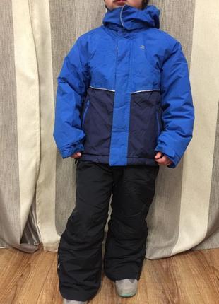 Лыжный комбинезон зимний костюм термо trespass и icepeak р.116