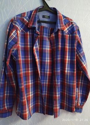 """Мужская рубашка фирмы colin""""s размер xxl"""