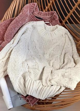 Шикарний плюшевий светр розмір м