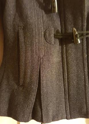 Теплая куртка с капюшоном adidas xs шерсть 70%4