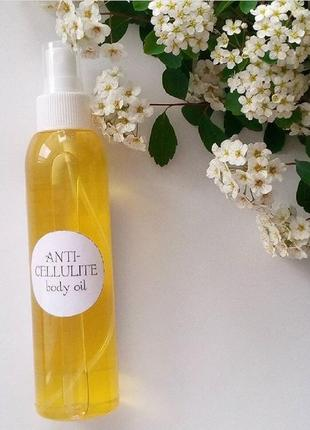 Підтягуюче зміцнююче масло для тіла anticellulite body oil