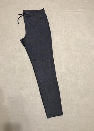 Меланжевые брюки/спорт