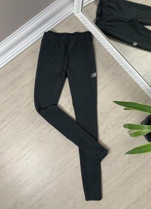 New balance лосины женские оригинал серные нью баланс спорт спортивные штаны леггинсы
