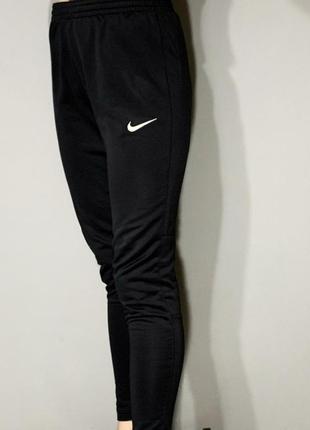 Спортивные штаны nike чёрные
