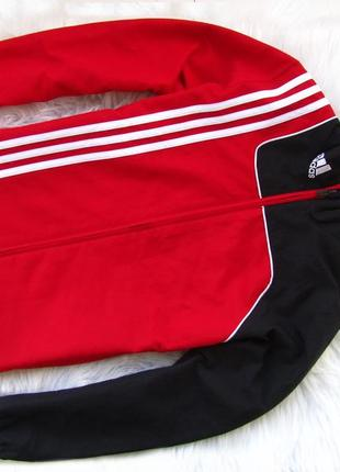 Стильная кофта реглан куртка adidas