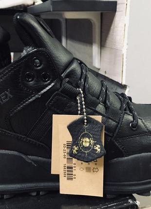 Зимние кожаные ботинки adidas f/1.3 le