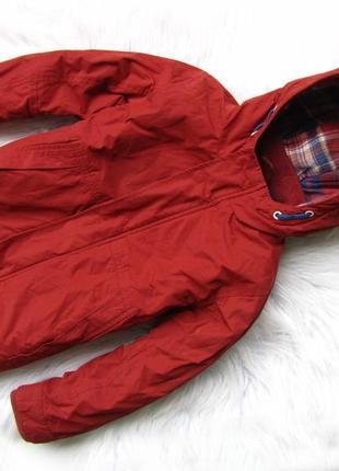 Стильная демисезонная куртка парка с капюшоном next