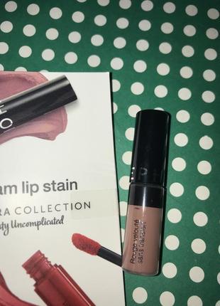 Sephora cream lip stain - жидкая нюдовая помада