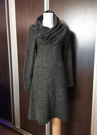 Тёплое платье floh свободного кроя трапеция