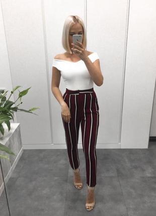 Идеальные брюки в актуальную полоску