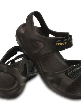 Сандалии crocs swiftwater river