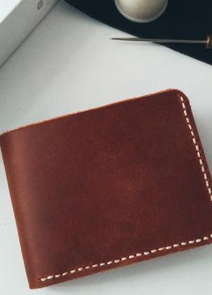 Мужской кошелек из кожи, кожаный кошелек, мужской кошелек