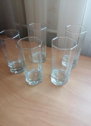 Набор стаканов, 5 штук