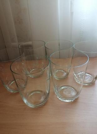 Набор стаканов 6 штук