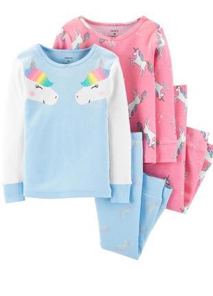 Набор пижам для девочки рр.98-104 carter's (картерс)