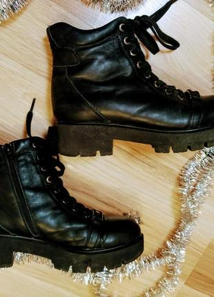 Зимние женские сапоги ботинки