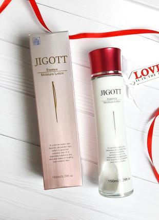 Увлажняющий лосьон для лица  jigott essence moisture skin lotion