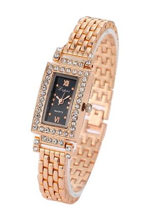 Наручные часы женские золотистого цвета код 290