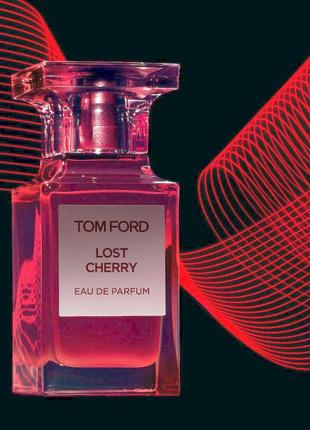 Lost cherry tom ford_original_eau de parfum 3 мл_затест парфюм.вода