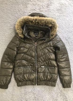 Куртка дутая мез пуффер пуховик