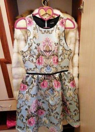 Брендовое коктельное вечернее платье kira plastinina оригинал