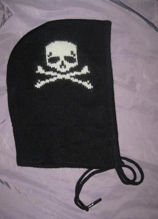 Новый крутой капюшон, шапка,  шерсть + ангора, теплый, оригинальный