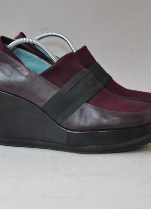 Туфли на легкой платформе marry robotin 41р 26,5см
