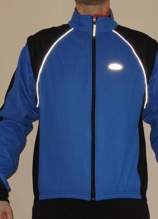 Вело куртка loffler windstopper р.xxl (54-56)