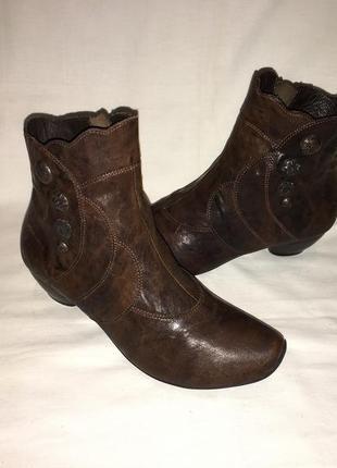 Ботинки *think * кожа германия р.37 ( 24.00 см)
