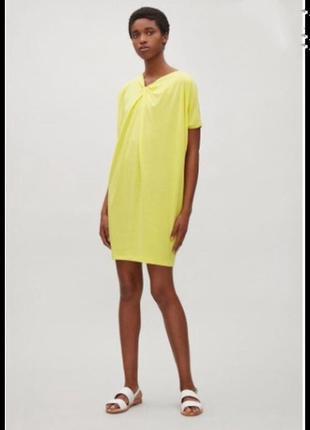 Фирменное стильное качественное натуральное кислотное платье