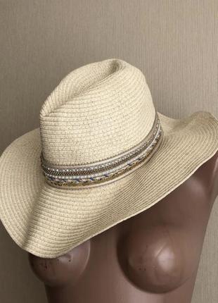 Шляпа пляжная хит этого лета