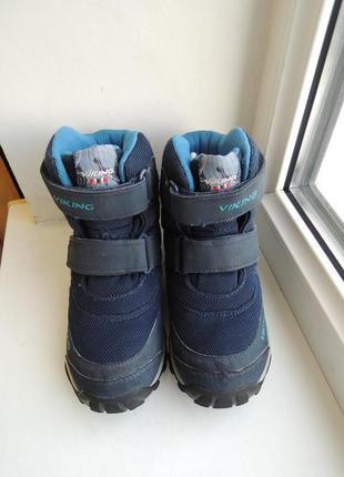 Зимние ботинки сапоги viking gore-tex (норвегия), р.31