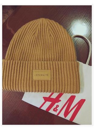 Тёплая шапуля h&m