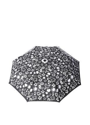 Женский механический зонт baldinini 554 черный