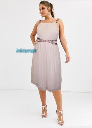 Платье с шалью драпировка c&a германия большие размеры