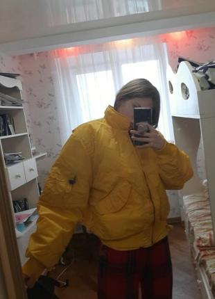 Желтая курточка vintage