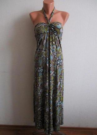 Sale -50%! платье-бандо с завязкой через шею la redoute