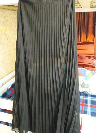 Рефльона юбка шифонова