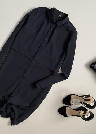 Стильное базовое платье рубашка atm