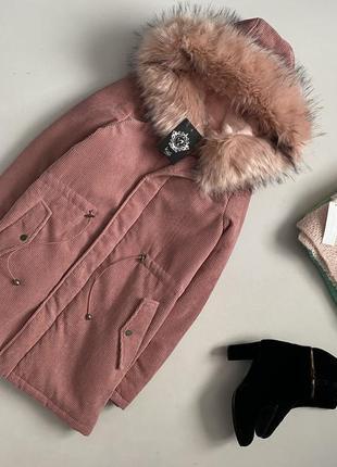 Новая стильная теплая куртка k.zell paris