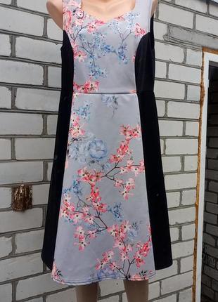 Платье батал большого размера