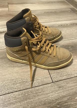 Тёплые зимние кроссовки adidas neo р-р 38