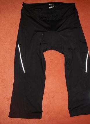 Вело бриджи crivit р.50-52(м) 3d памперс шорты