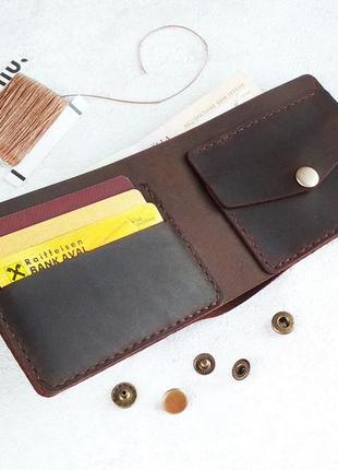 Кошелёк/портмоне из натуральной кожи