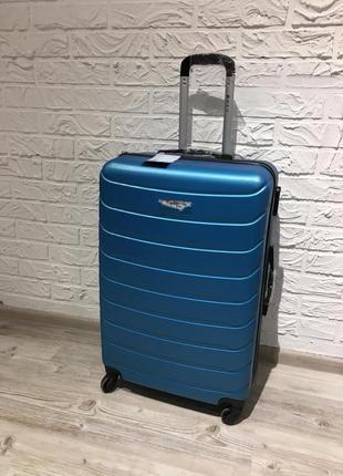 Качественный польский чемодан, якісна ударостійка валіза