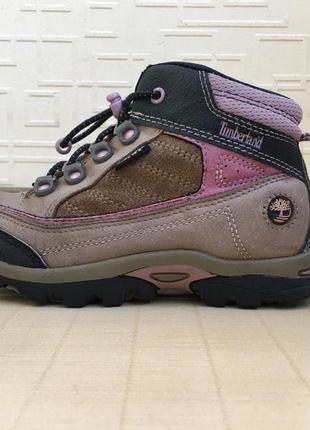 Кожаные ботинки timberland 30 размера